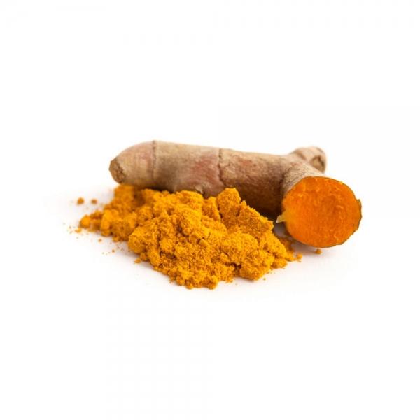 Kurkuma Gewürz Curcuma Pulver indische und orientalische Küche