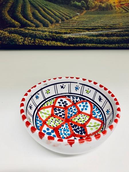 Orient-Keramik Schale Cera handgearbeitet 13cm 0T